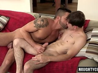 Anal,Rimming,gay,studs,brunette,hung Brunette gay anal sex and cumshot