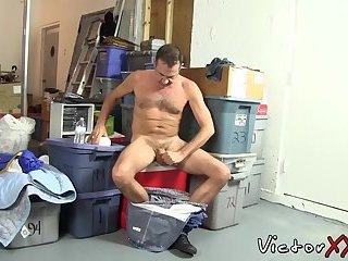 Anal,Cumshot,Mature,Blowjob,hardcore,big dick,doggystyle,hairy,victorxxx,gay Horny cock sucker was waiting all day to gobble juicy prick