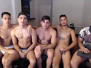Amateur,Party,Blowjob,group sex,gay These boys got the right idea