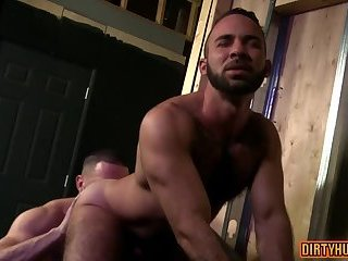 Anal,Hunks,Mature,gay,bear,muscle,hairy Muscle bear anal and facial cum