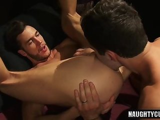 Anal,Fetish,Rimming,Tattoo,gay,muscled Hot gay anal with cumshot