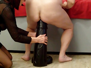 Sex Toys (Gay);HD Gays;Biggest Dildo;Biggest Ass;Destroys;Biggest;Anal Dildo;Dildo Ass;Anal Ass Biggest Hugest XXXL Anal Dildo 15x60cm Destroys Ass