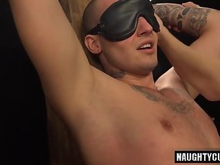 Anal,Fetish,Bareback,gay,spanking Tattoo gay spanking with cumshot