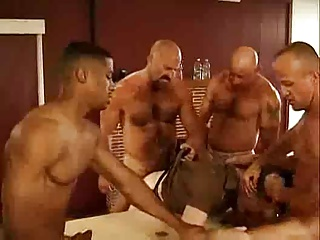Gay Porn (Gay);Men (Gay);Bareback (Gay) Hot men fucking hard bareback