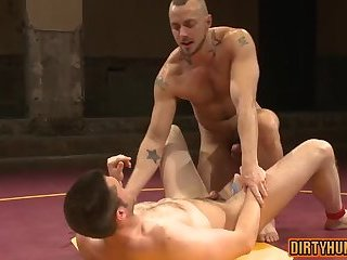 Anal,Hunks,gay,ass,hardcore,facial,muscle,wrestling Muscle gay oral sex and facial