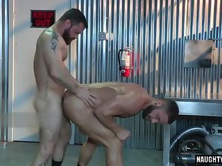 Anal,Cumshot,Hunks,Rimming,gay,muscle Tattoo gay anal sex and cumshot