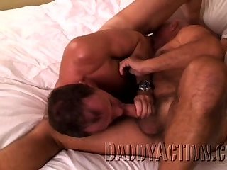 Anal,Bears,Mature,hairy,muscled,gay Bill And Aaron Are Two daddy homosexuals plowing