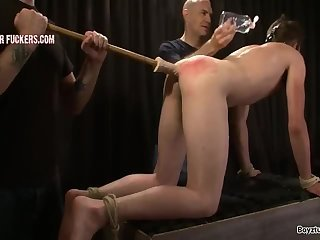 Bondage,Domination,Fetish,punishment, ass play,stright,gay str8 Will Turned Out III