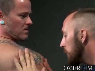Anal,Hunks,Mature,anal sex,hardcore,condom,deep throat,big dick,brunette,Over30men,Tattoo/Piercing,gay,Dustin Steele,Max Cameron Dustin Steele and big dick Max Cameron working that ass