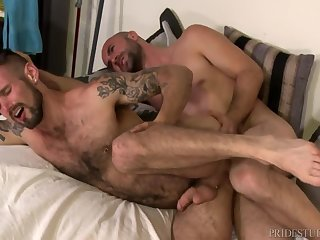 Anal,hairy,hung,couple,gay 9  What A Mess