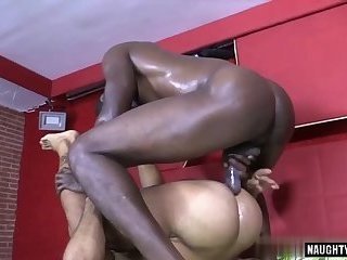 Anal,Ebony,Interracial,gay,facial,big dick,muscle Big dick gay oral sex with facial