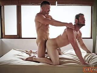 Anal,Cumshot,Hunks,gay,muscle Muscle gay anal sex and cumshot