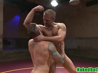 Anal,Hunks,Rimming,wrestling,hung,fight,gay Athletic wrestling hunk gets his ass drilled
