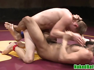 Anal,Domination,Fetish,hardcore,wrestling,hung,muscled,fight,gay Tattooed hunks wrestling and assfucking