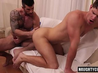 Anal,gay,ass,british,muscled Tattoo gay anal sex and cumshot