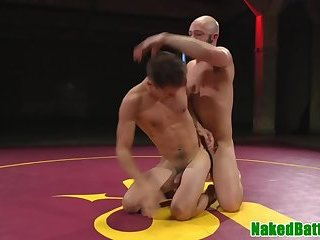Anal,studs,wrestling,hung,muscled,gay Doggystyled stud wrestling before analsex