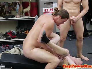 cumshot,amateur,pov,voyeur,blowjob,cum,gaysex,gaybait,gay Pawnbrokers triofucking pawnee in backoffice