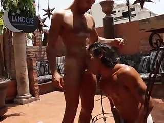Anal,Cumshot,facial,muscled,gay Mexican Latin Alejandro Castillo bonks James Ca