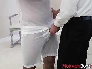 Anal,Cumshot,Gangbang,Threesome,Uniform,Bareback,ass,group sex,ass fuck,old & young,cock 2 cock,double penetraation,gay Uniformed mormon spunked