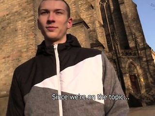 Blowjob (Gay),Gays (Gay),Reality (Gay),Twinks (Gay) Another freezing morning in Prague. I tried my luck at a