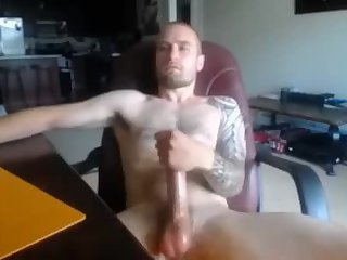 Amateur,Masturbation,Solo,Tattoo,gay Perfect Male