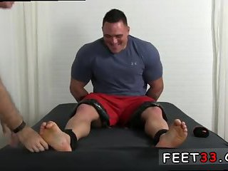 feet,fetish,gay sex,foot fetish,brunette,tickle,fetish sex,gay What could be finer than strapping up a big dick