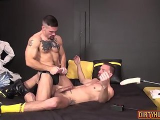 Anal,Cumshot,Fetish,gay,toys,muscle Muscle gay fetish with cumshot