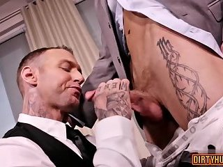 Anal,Cumshot,Domination,creampie,fuck,muscle,suit,gay Muscle son oral sex with cumshot