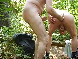 Gay Porn (Gay);Men (Gay);Fisting (Gay);Woods Fisting in the woods