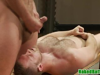 Anal,Domination,Fetish,hardcore,fuck,studs,wrestling,hung,fight and fuck,gay Muscular jock wrestles hunk before analsex