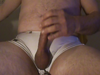 Men (Gay) Smooth Stroke Stiff Hard Cock to Creamy Cum