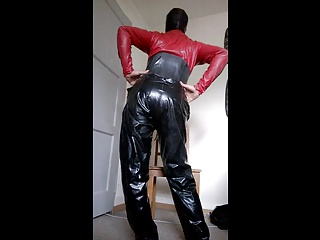 Men (Gay);Catsuit red catsuit