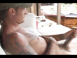 masturbation,solo,tattoo,gay,outdoor,gay solo,wanking, tattoos Nate tugging dick