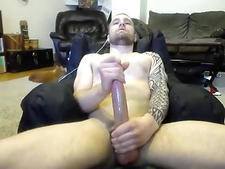 Amateur,Masturbation,Solo,Tattoo,gay What a gorgeous big dick