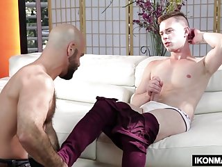Gay Porn (Gay);Big Cocks (Gay);Blowjobs (Gay);Handjobs (Gay);Ikon Male (Gay);HD Gays;Nervous;Photographer Photographer Adam Russo fucks nervous Kyler Grey