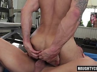 Anal,gay,ass,bdsm,fuck,gym,hung,russian, workout Russian gay flip flop with cumshot