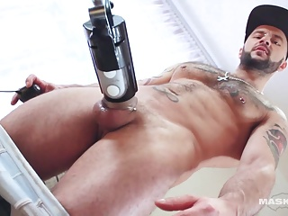 Hunks (Gay);Masturbation (Gay);Muscle (Gay);Sex Toys (Gay);Striptease (Gay);HD Gays Maskurbate Manuel Deboxer MILKED!