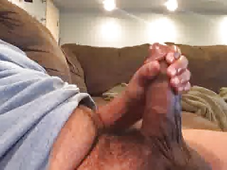 Amateur (Gay);Big Cocks (Gay);Daddies (Gay);Masturbation (Gay);Men (Gay) Str8 daddy big and fat meat