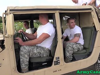 anal,outdoors,uniform,oral,outdoor,anal sex,public,uniform sex,gay Military hunks outdoor fucking and jizzing
