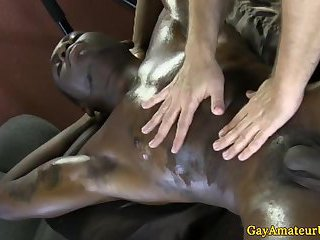 gay Straight muscled ebony jock thick cock sucked