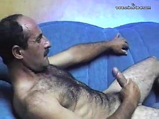 gay Arab daddy cumload