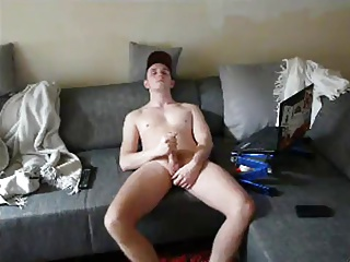 Masturbation (Gay);Webcams (Gay) GERMAN GUY MASTURBATION TIME