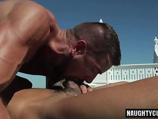 Anal,Outdoors,Tattoo,gay,hung,muscled,brutal Tattoo gay anal sex and cumshot