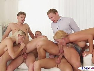 Cumshot,Fetish,Threesome,gay Orgy loving stud assfucked while pussylicking