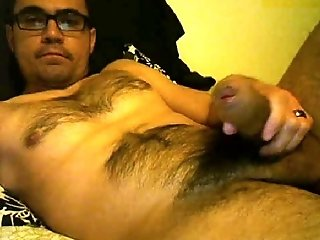 Big Cocks (Gay);Hunks (Gay);Latin (Gay);Masturbation (Gay);Men (Gay) SUPERHOT LATINO HAIRY HUNK - NO CUMSHOT