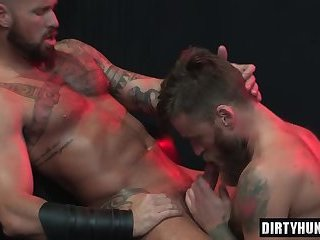 Anal,Gloryhole,Hunks,bear,facial,fuck,muscle,gay Muscle bear foursome with facial