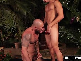 Anal,Cumshot,Hunks,Outdoors,outdoor,hung,muscled,gay Latin son outdoor and cumshot