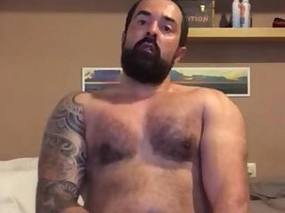 Amateur,Masturbation,Solo,Tattoo,beard,gay Hot THICC set of cock and balls