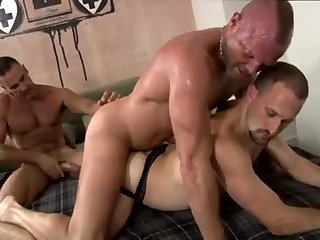 Anal,Mature,Rimming,Threesome,group sex,fuck,muscled,rought,gay Lito # Chad # Ross - Daddy Males In Three-some