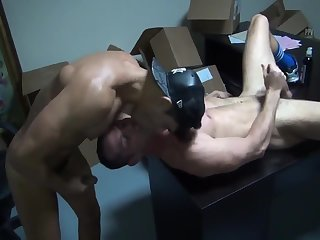 Anal,ass,fuck,muscled,athlete,gay 8b Muscle Slab Gives A unprotected Creampie